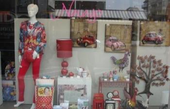 Speciaalzaak decoratie, kledij, geschenkartikelen Navayo Koksijde