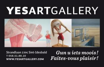 Kunstgalerij YESART gallery Sint-Idesbald