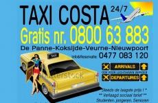 Taxi Costa Koksijde