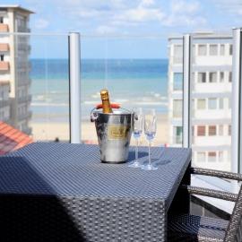 viersterren luxehotel Casinohotel Koksijde Wellness met zicht op zee