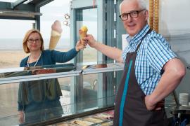 ijssalon tearoom 't Zwart Schaap Sint-Idesbald